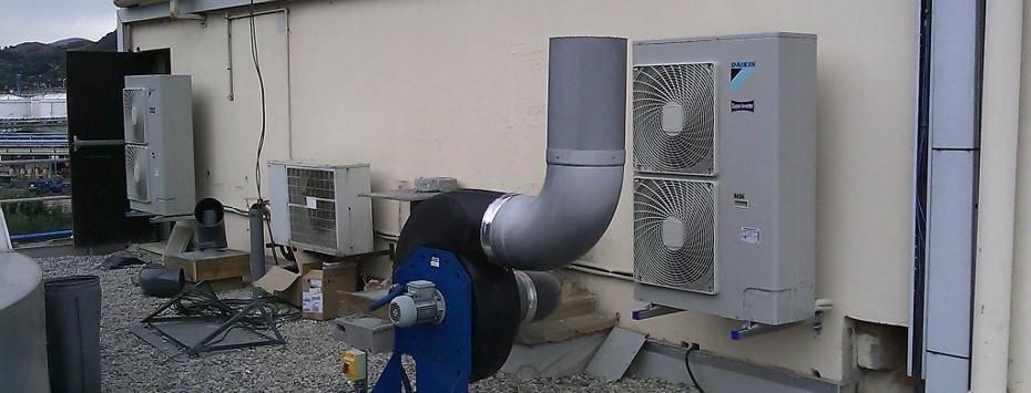 Installation de systemes de climatisation pour professionnels & particuliers