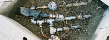 Reparation plomberie Batiment Modulaire arrivee d'eau